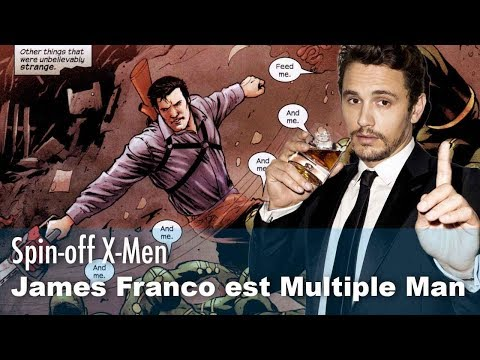 Download Youtube: Un nouveau spin-off X-Men avec James Franco