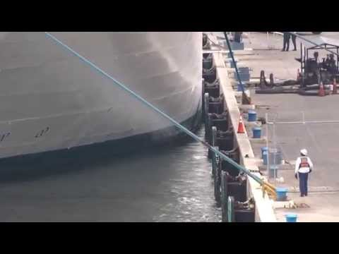 Time-Lapse of all cruise ships departing Fort Lauderdale on 3/29/14