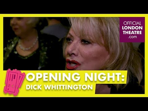 Opening Night: Dick Whittington at the London Palladium