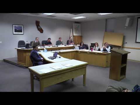Trinity County Planning Commission 11-29-2018