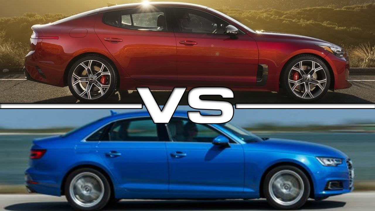 2018 Kia Stinger Vs 2017 Audi A4