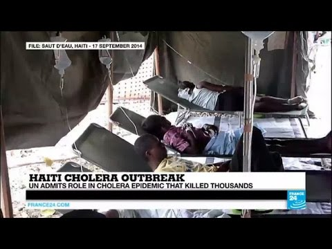 "Haiti: UN admits its role in ""world's worst"" cholera epidemic that killed thousands"