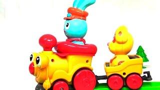 Развивающие мультфильмы с игрушками: Веселая собачка Макс
