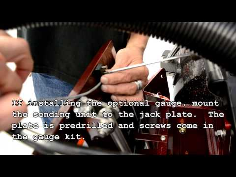 How to install Bob's Machine Action Jack Plate and Dual Power Poles.