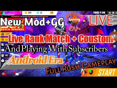 Garena Free Fire Live India Squard Rank In Hindi   #durecorder #freefire #live
