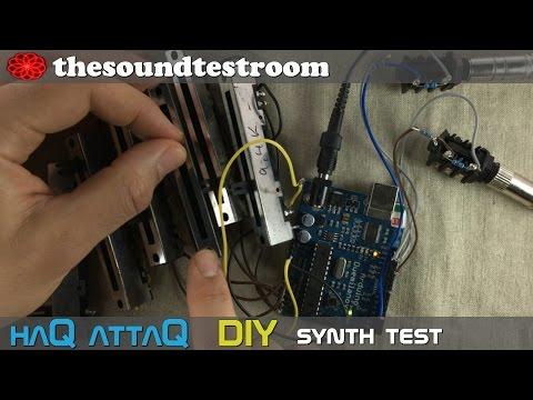 Arduino Duemilanove Synth Glitch Test - HaQ AttaQ DIY