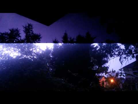 Petersfield Hampshire Lightening Storm 18/7/14