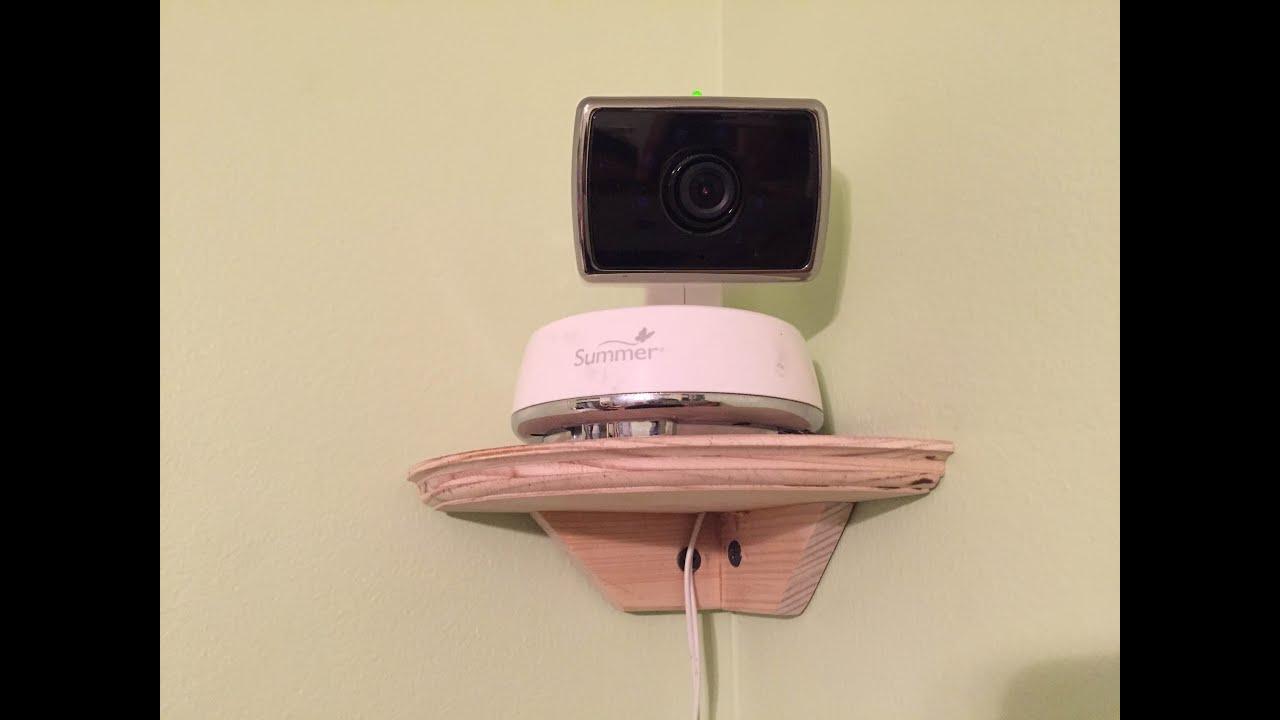 Small Corner Shelf Part - 32: Building A Small Corner Shelf For A Baby Monitor