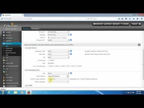 How to create ip base Firewall Rule to allow internet access on Machine in cyberoam