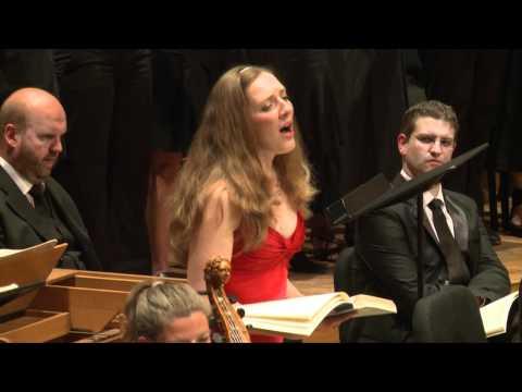 Bach Matthäus-Passion 60. Aria: Sehet, Jesus hat die Hand
