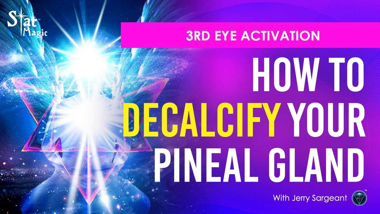 Decalcify Your Pineal Gland | 7 Magical Supplements | 3rd Eye Activation