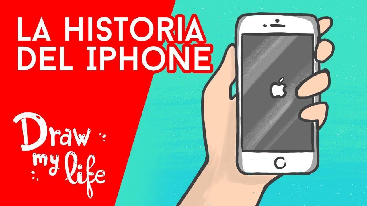 La HISTORIA del IPHONE - Draw My Life