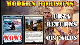 Modern Horizons Spoilers Leaked | URZA, Lord High Artificer