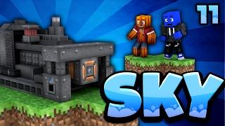 DIE GEILSTE MASCHINE! UNENDLICH STROM! - Minecraft SKY #11 | DieBuddiesZocken