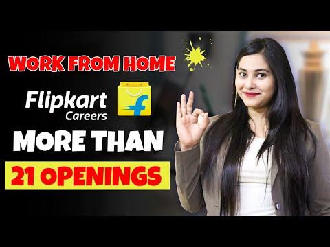 Work From Home Flipkart Jobs   jobs in flipkart   flipkart job openings   Earn money From Home