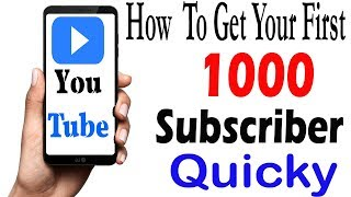 How To Get Your First 1000 Subscribers On YouTube Fast |2018 | in Urdu/Hindi #Tech4shani