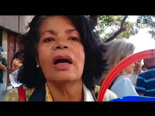 Habitantes de Caracas exigen a Hidrocapital garantizar el suministro de agua