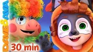 One, Two, the Kids Say Boo | Halloween Songs | Nursery Rhymes & Baby Songs by Dave and Ava
