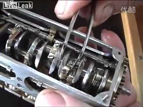 a handmade mini v12 engine youtube. Black Bedroom Furniture Sets. Home Design Ideas