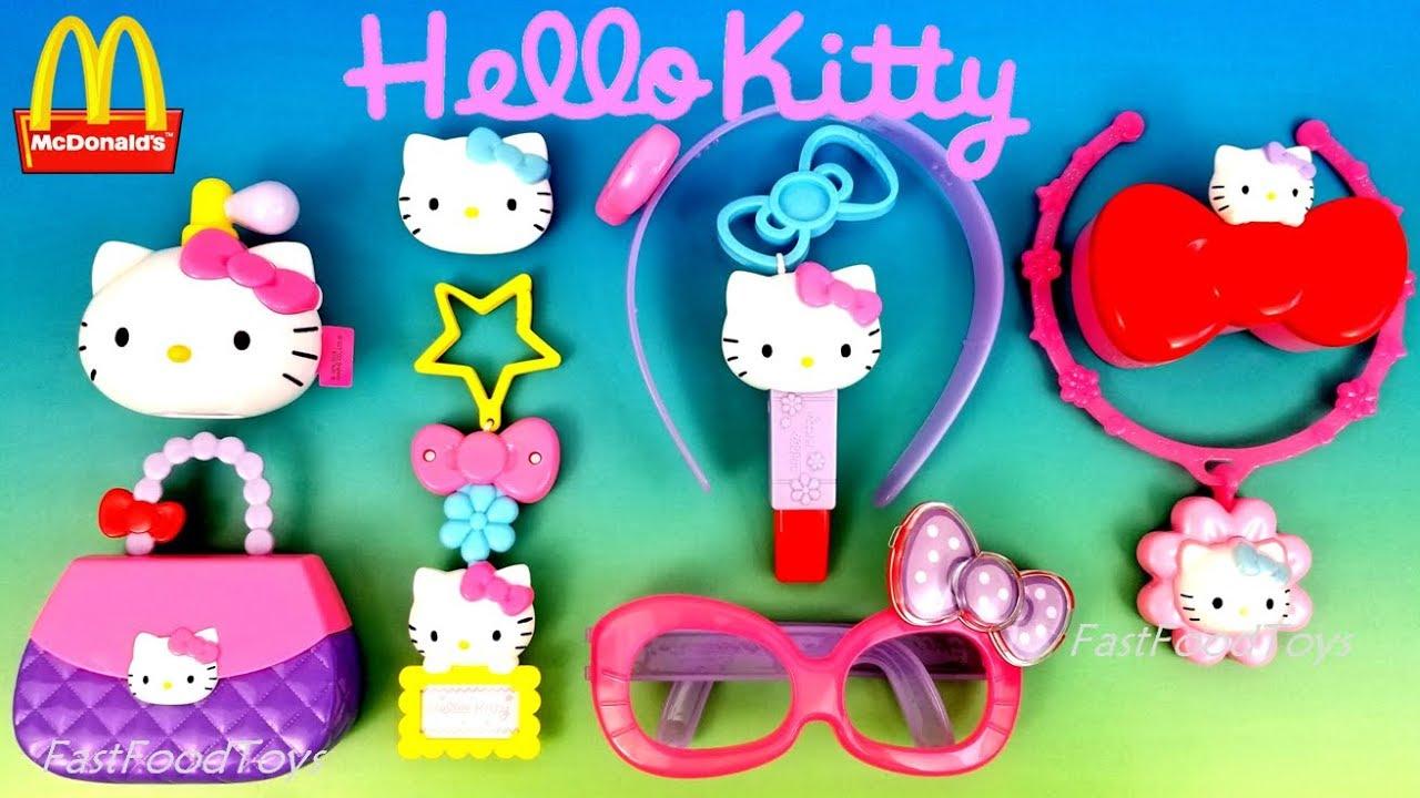 Hello Kitty Happy Meal Toys : Mcdonald s hello kitty happy meal toys full world set