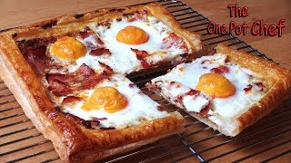 Bacon And Egg Breakfast Tart - Recipe