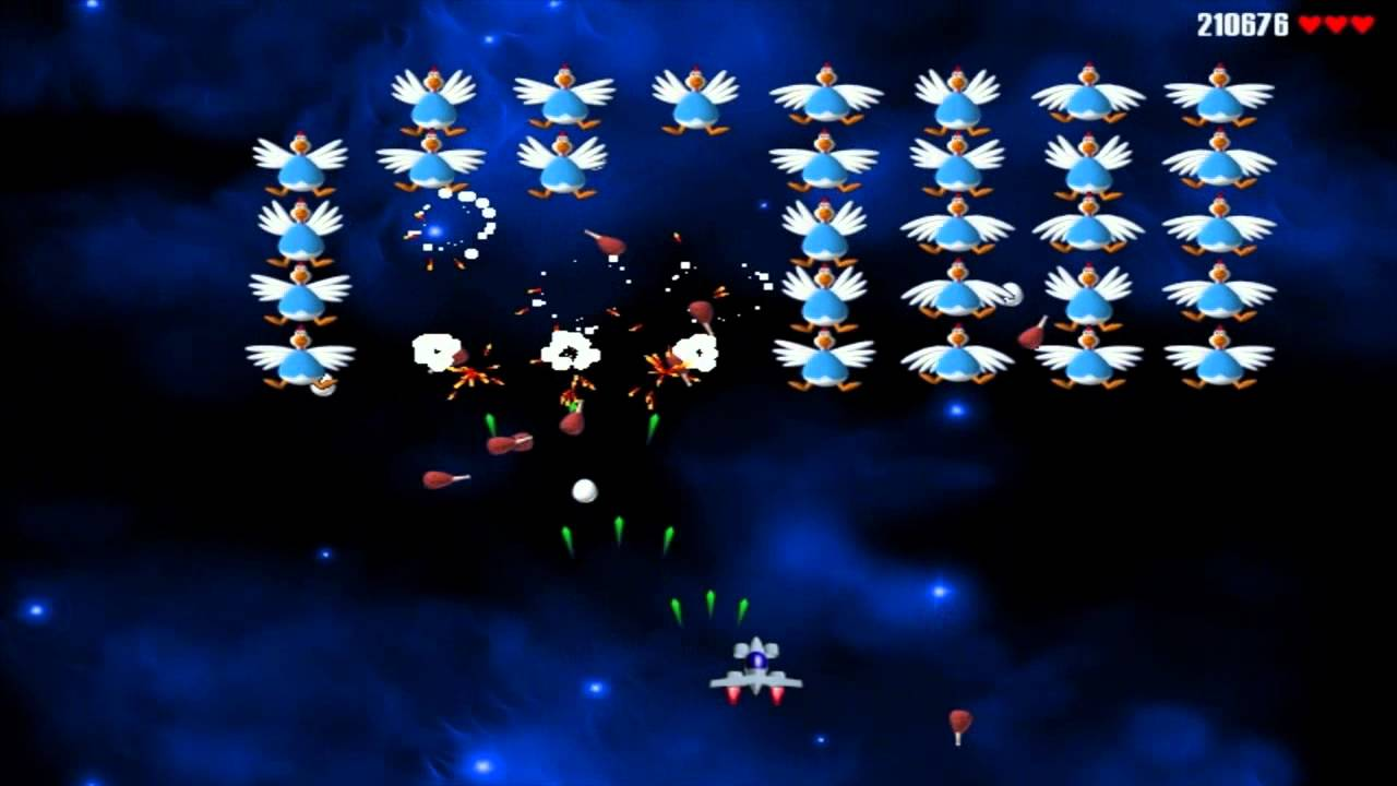 Play chicken invaders online without ing