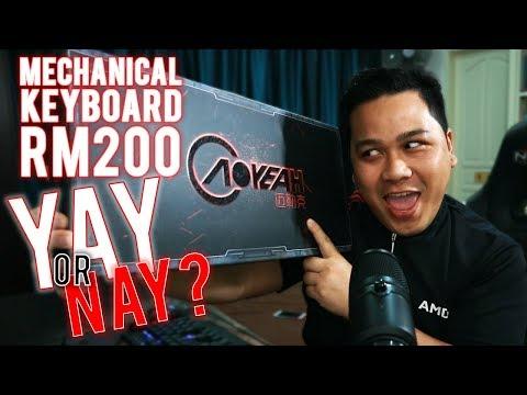 OEM Mechanical Keyboard RM200 - Berbaloi Atau Tidak?