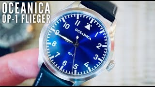 The Highest Quality Most Affordable Flieger Watch Under $300 - Oceanica OP 1