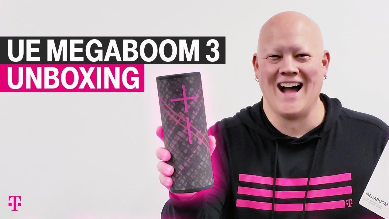 UE MEGABOOM 3 Bluetooth Speaker Unboxing with Des | T-Mobile