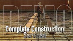 Construction Contractor Demo Video for Contractors in Austin TX