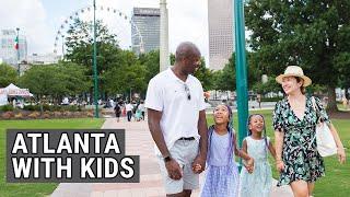 Things To Do in Atlanta With Kids - Atlanta Travel Vlog - Top Flight Family - Luxury Family Travel