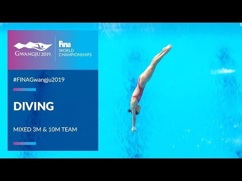 Diving Mixed - 3m & 10m Team | Top Moments | FINA World Championships 2019 - Gwangju
