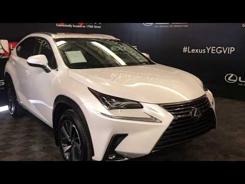 White 2018 Lexus NX NX 300 Review Edmonton AB - Lexus of Edmonton