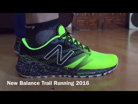 NEW BALANCE TRAIL RUNNING ON FEET
