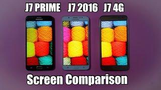 samsung j7 prime vs j7 2016 vs j7 4g   screen test   techtag