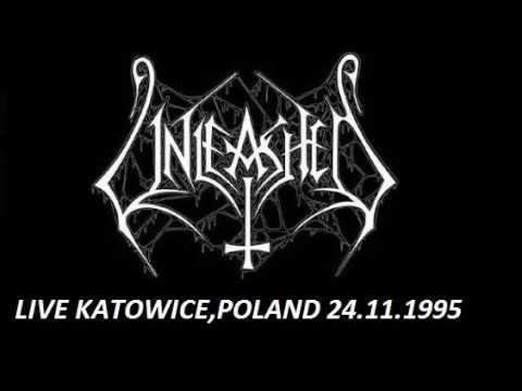 UNLEASHED (sweden) live mega club,katowice,poland 24.11.1995