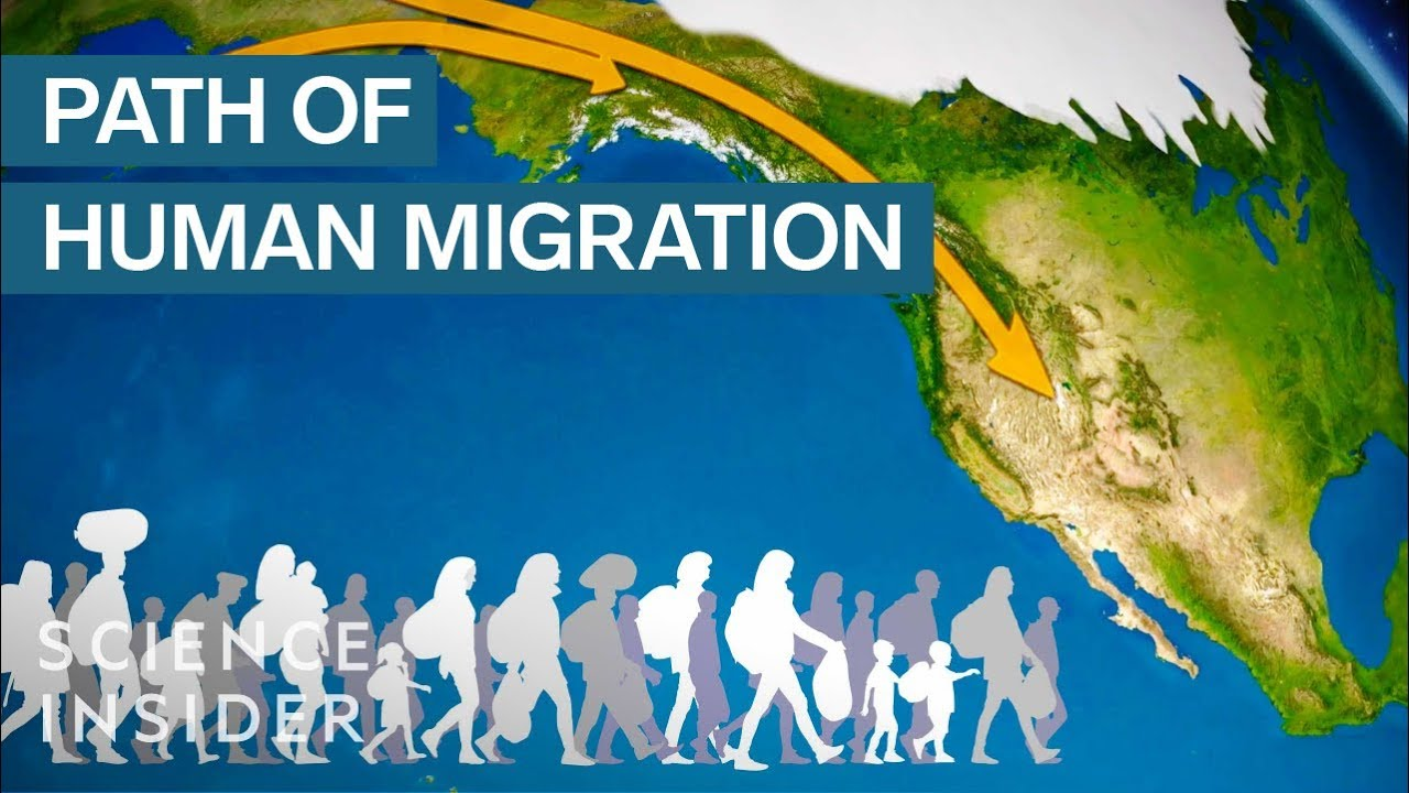 Animated Map Shows How Humans Migrated Across The Globe YouTube - Animated map of immigrants to us