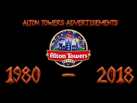 Alton Towers TV Advertisements (1980 - 2018)