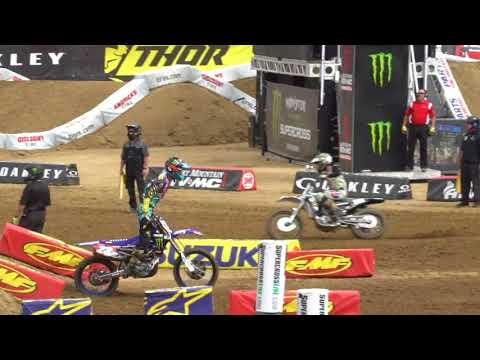 San Diego Supercross 250 free practice RAW