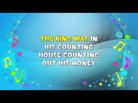 Sign a Song of Sixpence | Sing A Long | Nursery Rhyme | KiddieOK