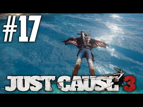 HELICOPTER TOUR!  Just Cause 3 17 JC3 Let's Play PS4