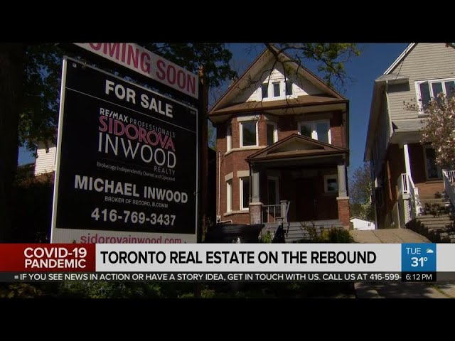 Toronto housing market looking robust after difficult spring