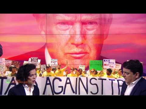 Bianca Jagger on Protesting President Trump's Executive Orders