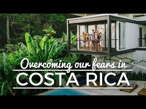 Overcoming our fears in COSTA RICA!
