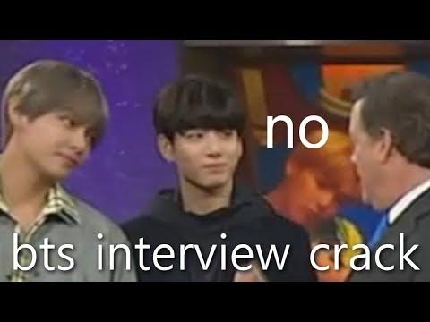 BTS crack #12 US INTERVIEW CRACK