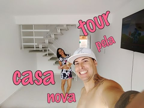 TOUR PELA CASA NOVA !!!