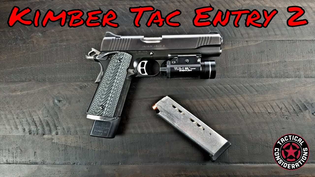 Kimber Tactical Entry 2 My Old Workhorse 1911