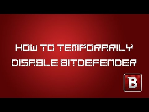 how to temporary disable bitdefender 2017 | FunnyCat.TV