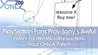 PlayStation Fans Pray Sony's Awful Patent For Hint Microtransactions Stays Only A Patent
