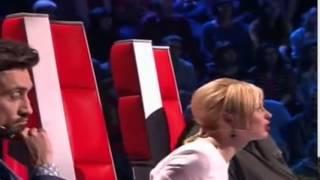 Ксения Бракунова  Простая Песня  шоу Голос Дети 2 1 выпуск 13 02 2015